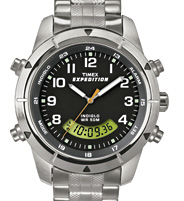 TIMEX Expedition 24-uurs quartzchronograaf