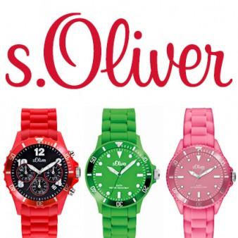 s.Oliver silicone straps