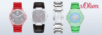 s.Oliver Uhrenarmbänder