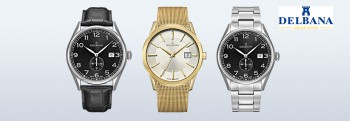 DELBANA Swiss made watches