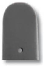 Lederband Merano 10mm steingrau glatt