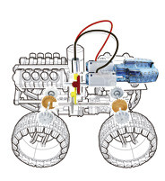 Bausatz Salzwasser-Allradfahrzeug