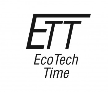 Eco Tech Time Solar Drive Funk Titan, bicolor Ø 43mm