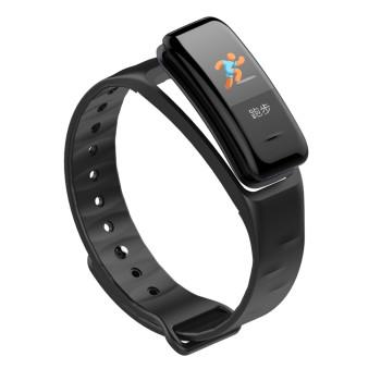 Fitness Tracker, schwarz, mit Farbdisplay