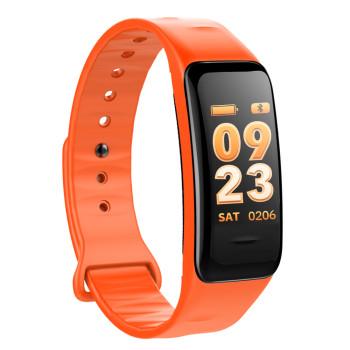 Fitness Tracker, orange, mit Farbdisplay