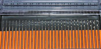 HSS-Mini-Bohrersatz, 30-teilig