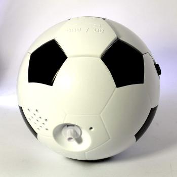 Atlanta 1199 schw./weiß Quarzwecker mit Musik Fußball