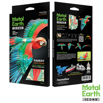 METAL EARTH 3D construction kit Parrot