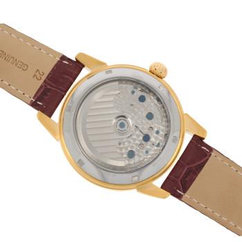 SELVA Montre-bracelet d'homme »Garcia« - argenté - doré-brun