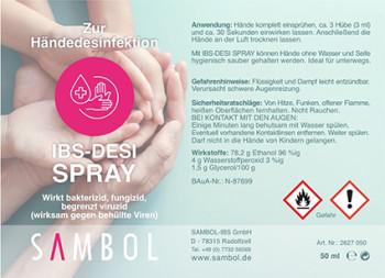 Desinfektionsmittel für die Hände, 100ml