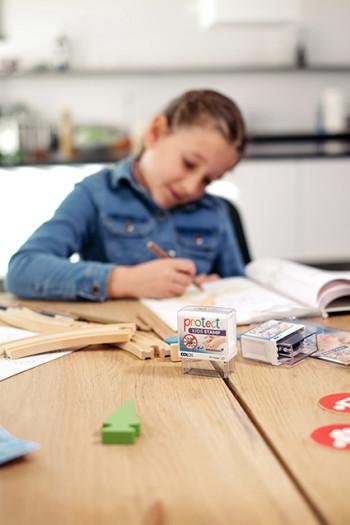 Protect Stamp - stamping - washing - protecting