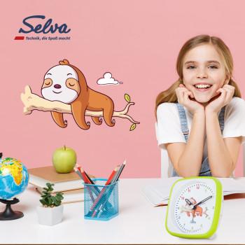 SELVA Exklusiv Kinderwecker, lautlos
