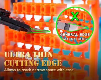 Pince coupante de côté pour plastique à 3mm