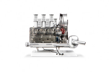 Bausatz Klassisches Porsche-911-Motormodell im Maßstab 1:4