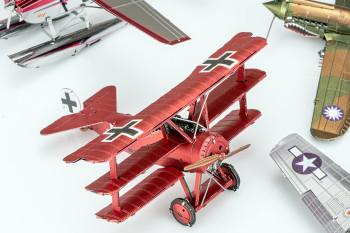 METAL EARTH 3D-Bausatz Roter Baron