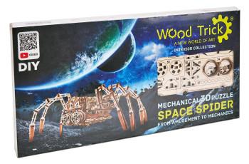 WOOD TRICK Space Spider, 245 Bauteile