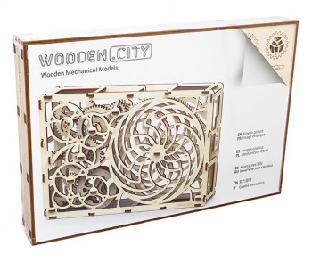 WOODEN CITY Kinetic Picture, 85 Bauteile