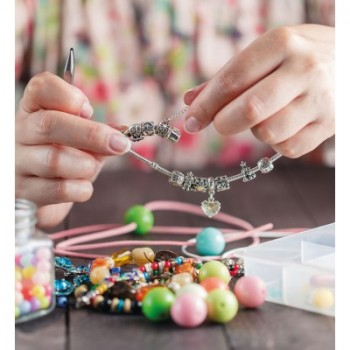 Schmuckbastel-Set mit Perlseide