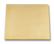 Brass sheet 2.5 mm