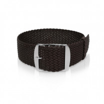 Perlon band black, 18mm