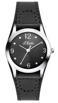 s.Oliver faux leather black SO-2623-LQ