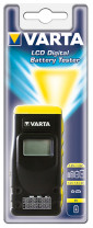 Varta Battery Tester LCD-digital