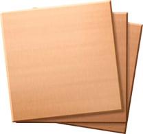 GRS-Übungsplatten Kupfer 25,4x50,8 mm 3er Pack