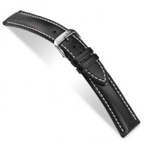 Hightech watch strap Katu waterproof 20mm black