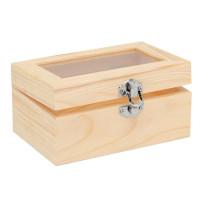 Holzbox mit Acrylglas
