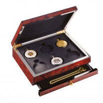 Watch Box for six pocket watches for 6 watches