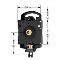 Quartz pendulum clock movement Hermle 2200, HSL 16mm
