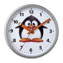 Wanduhr Pinguin