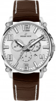Pierre Petit Chronograph Le Mans silber Swiss Made