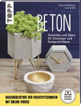 Livre Beton Techniken & Ideen für Einsteiger und Fortgeschrittene (Béton Techniques & idées pour bricoleurs débutants et avertis)