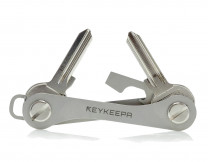 Keykeepa stainless steel for up to 12 keys, silver