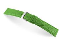 Lederband Pasadena 14 mm apfelgrün