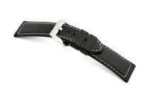 Lederband Happel PAN 22mm schwarz