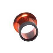 Lupe aus eloxiertem Aluminium 5,0x