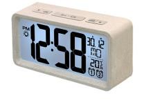TECHNOLINE Quartz alarm clock made of 70% wheat