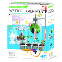 GreenScience Wetter Experimente