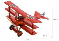 METAL EARTH 3D kit Red Baron