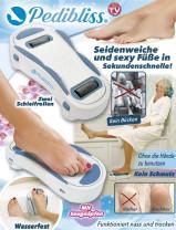 Pedibliss Fußpflege und Hornhautentferner