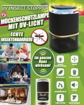 Mückenschutzlampe mit UV-Licht
