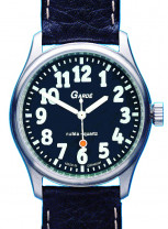 Uhren Manufaktur Ruhla - special watch - extra large digits - rich in contrast - for visually impaired people