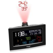 Projektionswecker mit WLAN-Anbindung und Profi-Wettervorhersage