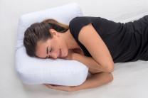 Seitenschläferkissen mit Polyesterbezug für eine ruhige Nacht - innovativ, kuschelig, wohltuend