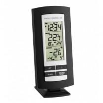 Funk-Thermometer mit Funkuhr