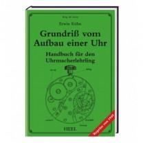 Erwin Kühn, Grundriss vom Aufbau einer Uhr