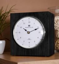 Uhrenbausatz Horaculix HC1 - Eiche schwarz lackiert