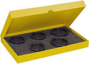 """Assortiment de 5 tasseaux """"XL"""" creusés en POM, filetage M6, épaisseur 14 mm"""